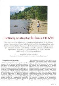 Straipsnis apie Fidžį - Viktorija Panovaitė
