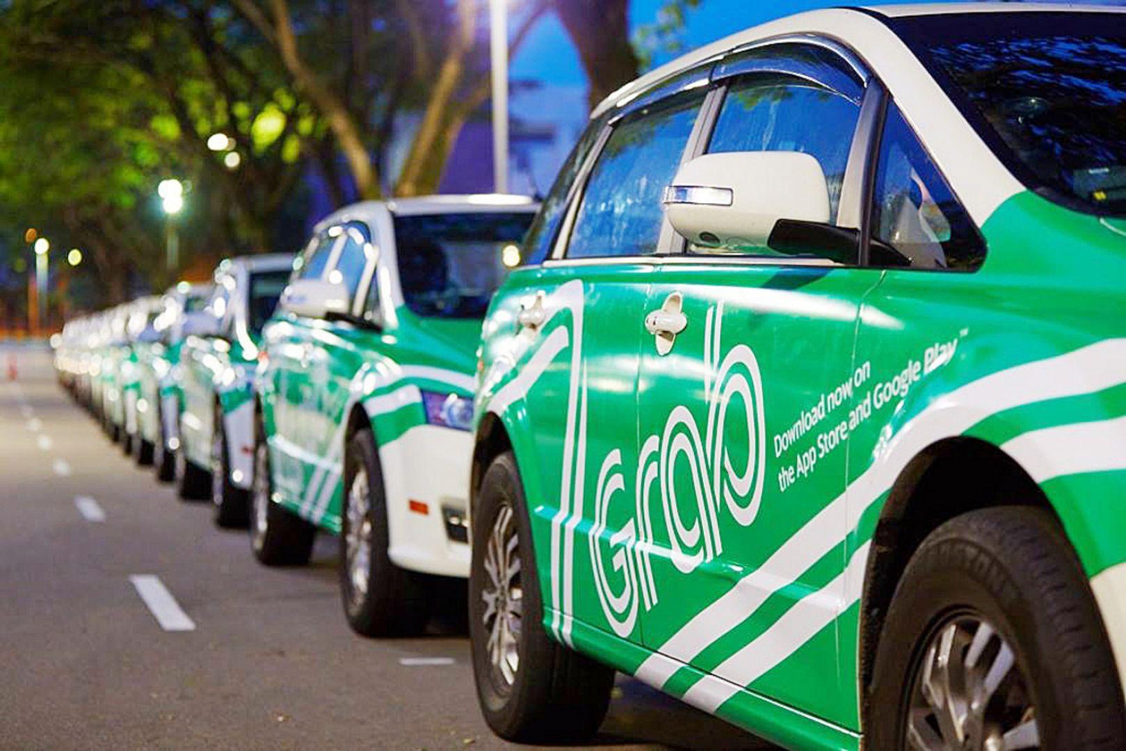 Grab taksi