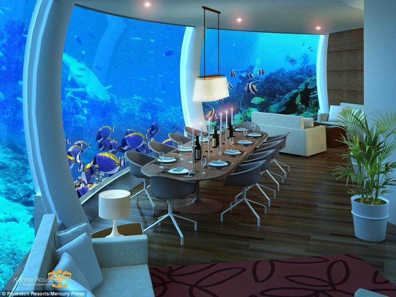 Apie Fidžį - povandeninis viešbutis