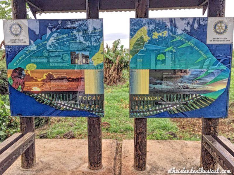 Apie Fidžį - Taveuni datos kirtimas