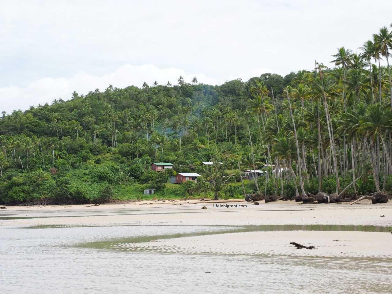 Kelionė į Fidžį - kaimas