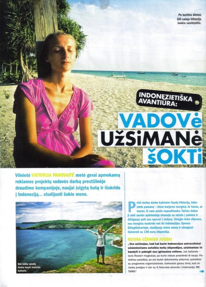 Articles about indonesia, Panele magazine (1)