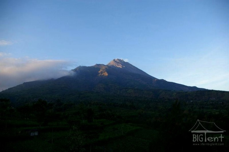Beauty of mount Merapi