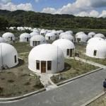 Lokasi wisata rumah dome