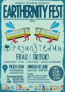 Earthernity Fest poster