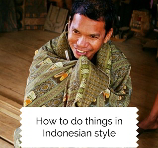 Indonesian people lifestyle