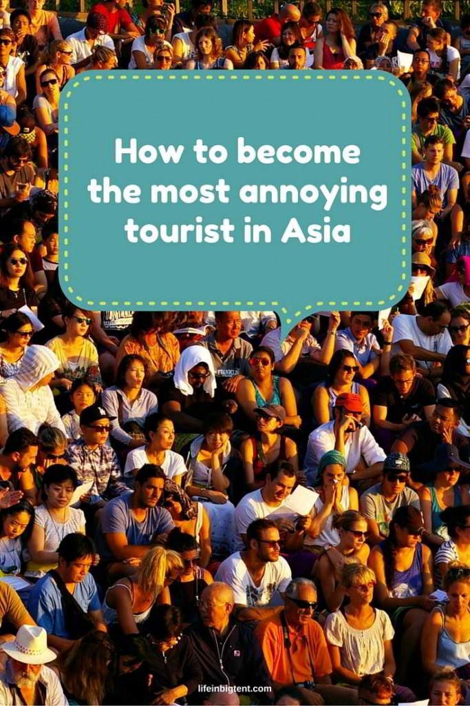 Annoying tourists pinterest