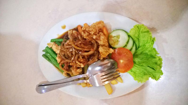 Try in Yogyakarta - cobra meat