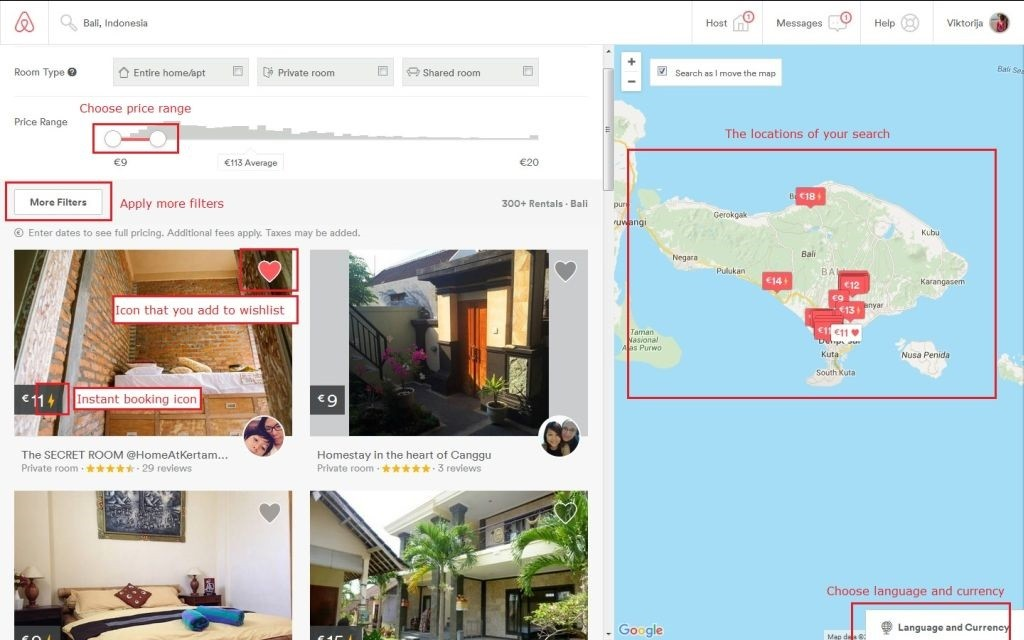 Tips for booking via airbnb save money avoid for Airbnb how to pay
