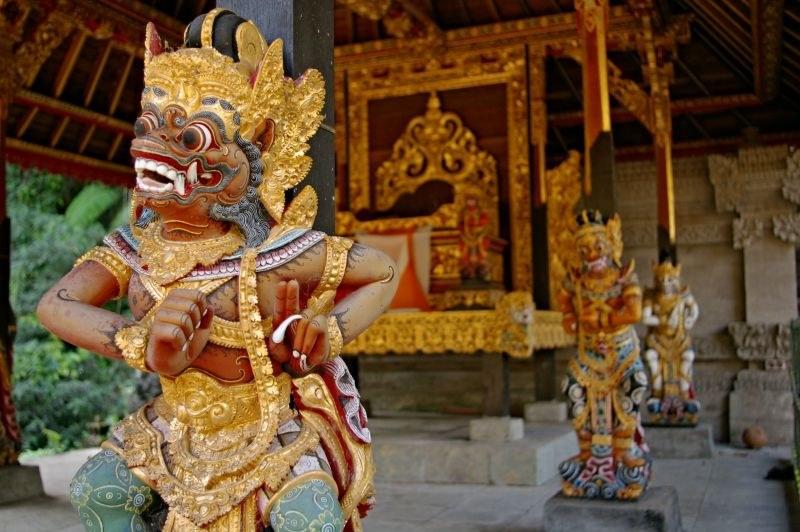 Gunung Kawi Sebatu temple in Bali