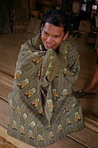 Tube sarong like a cover