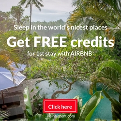 free airbnb credits