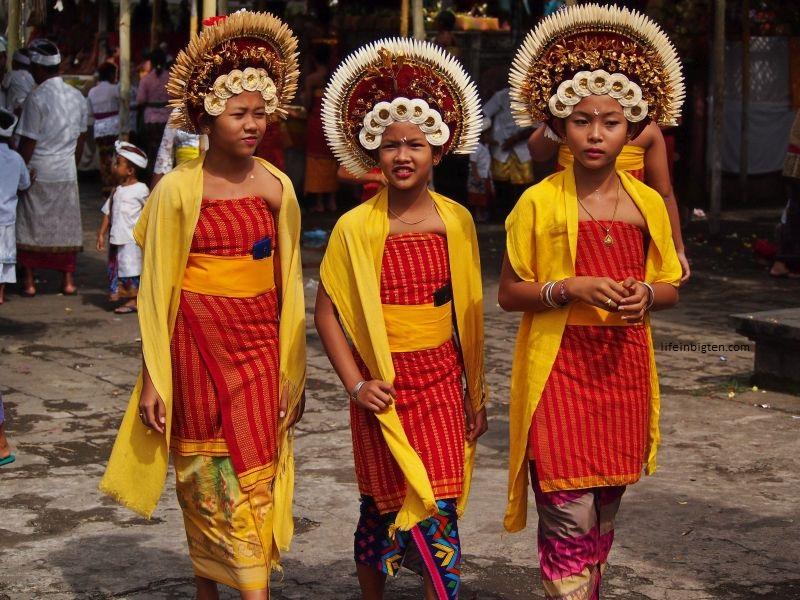 Balio saloje daugybė įvairių unikalių švenčių
