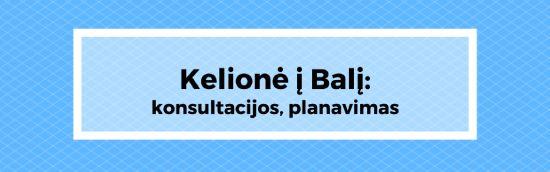 Kelionė į Balį. Kelione i Bali