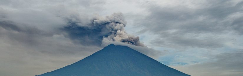 Ugnikalnis Agungas istorija