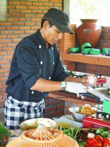 Wayan cooking class in Bali