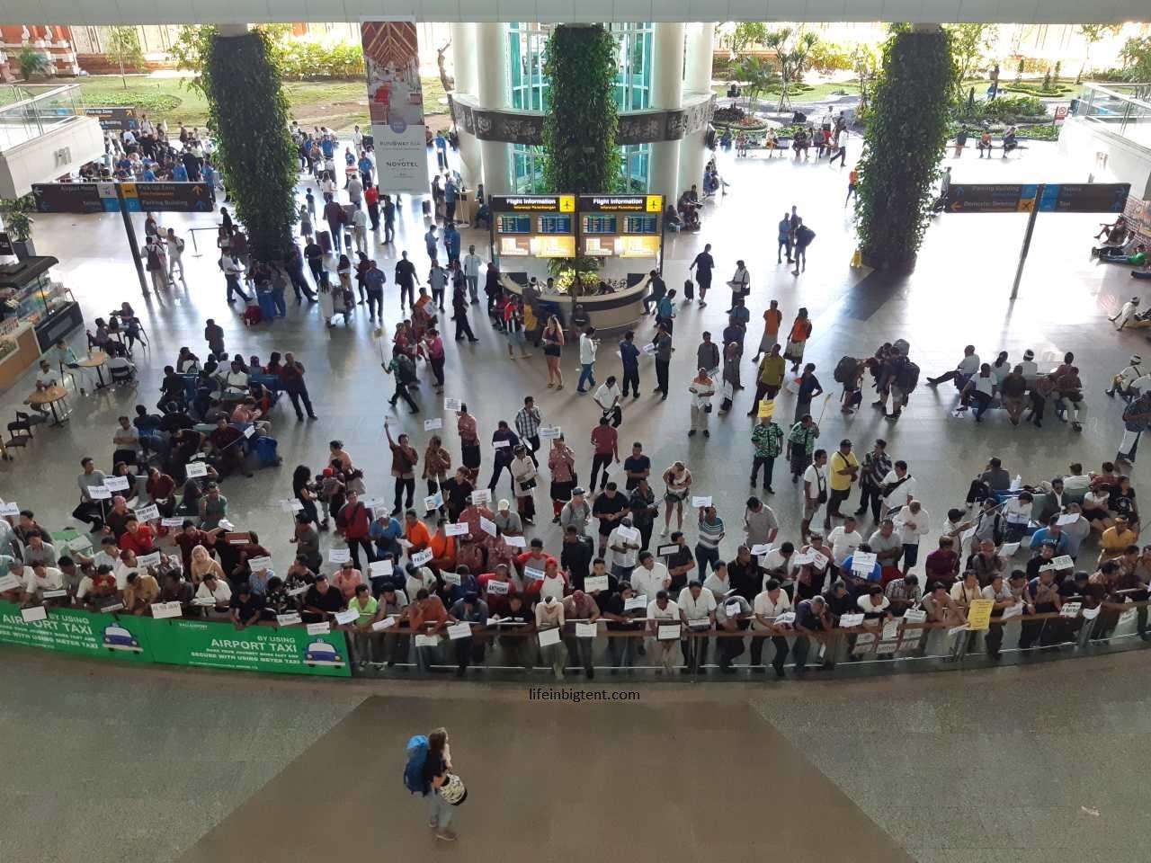 Balio oro uosto vairuotojai