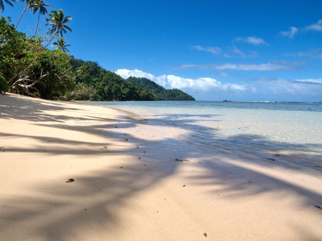 Kelionė į Fidžį - paplūdimiai