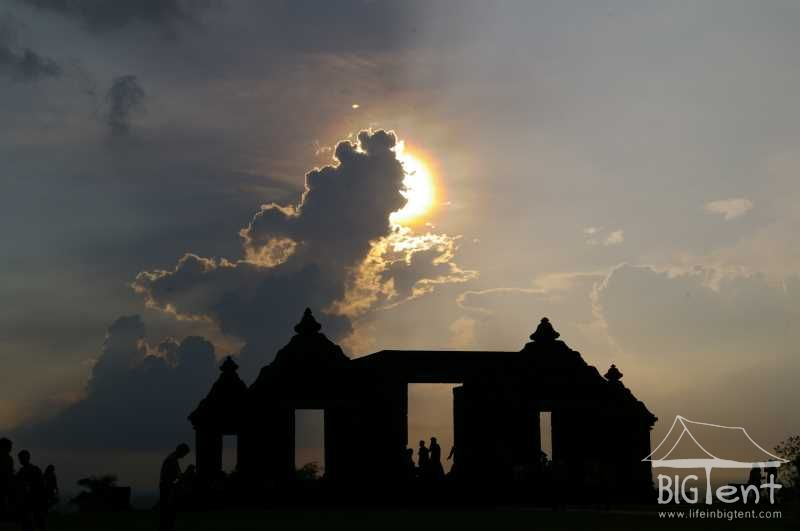 Ratu Boko sunset
