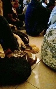 Indonesian concert - shoes