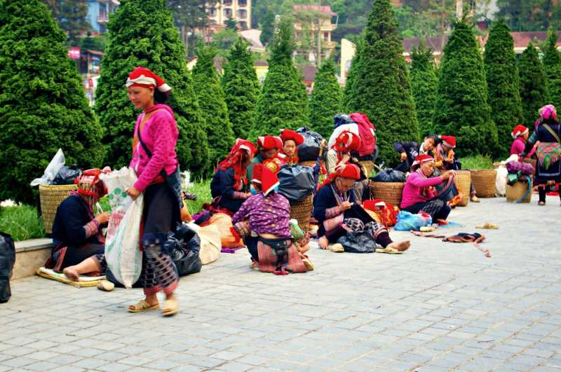 Sa Pa market - souvenirs from Vietnam