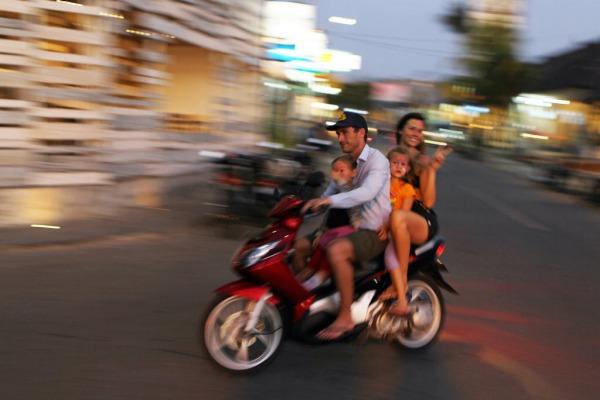 Tourist in Asia