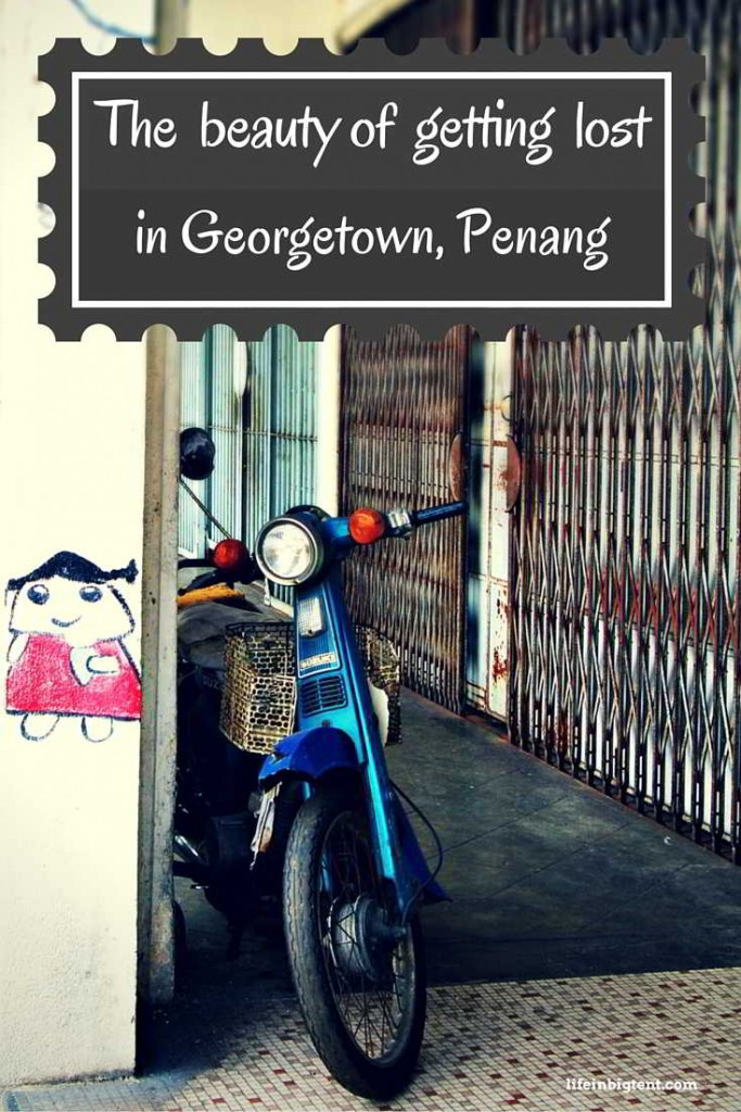 Getting lost Georgetown, Penang pinterest