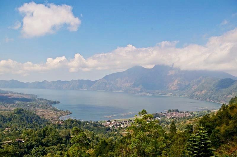 Lake view - Batur in Bali