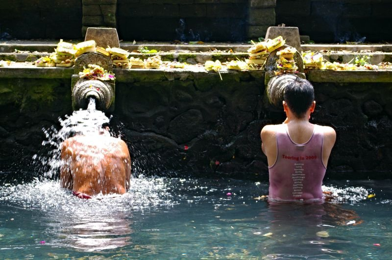 Bali travel itinerary - Tirta Empul