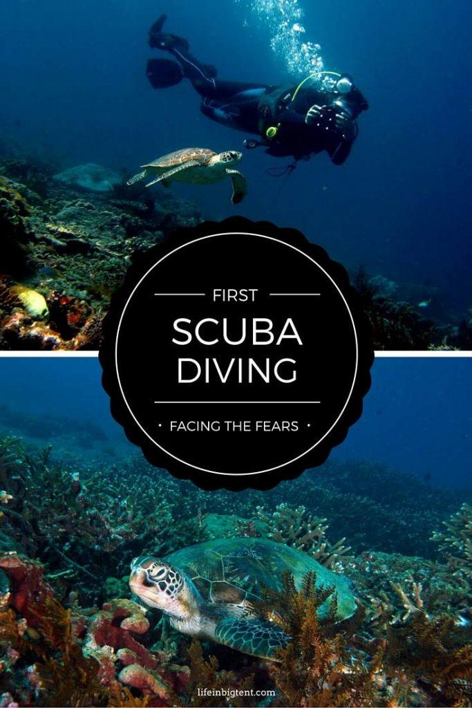 Scuba diving in Bali - pinterest