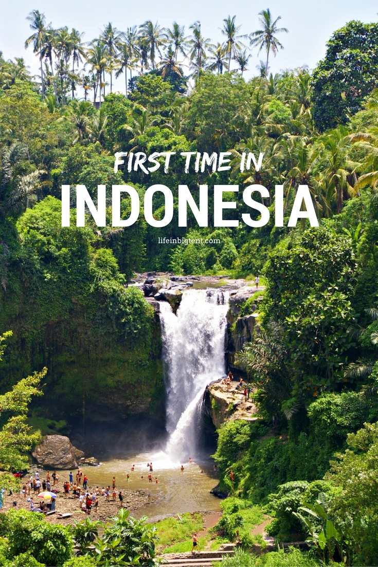 First time in Indonesia
