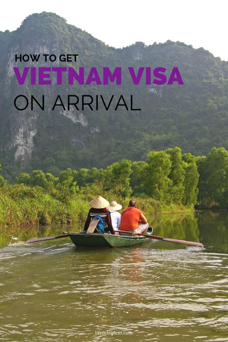 Vietnam visa on arrival - easier way to enter Vietnam - lifeinbigtent.com