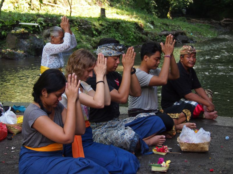 Bali rituals - purification