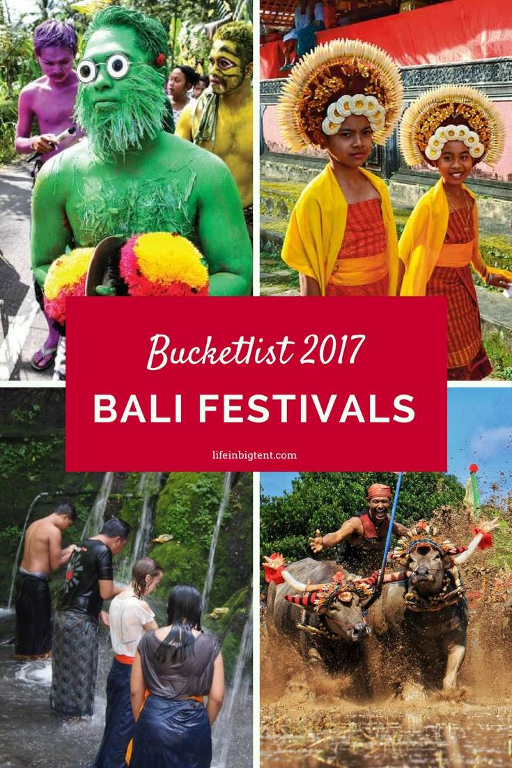 Bali events - Pinterest