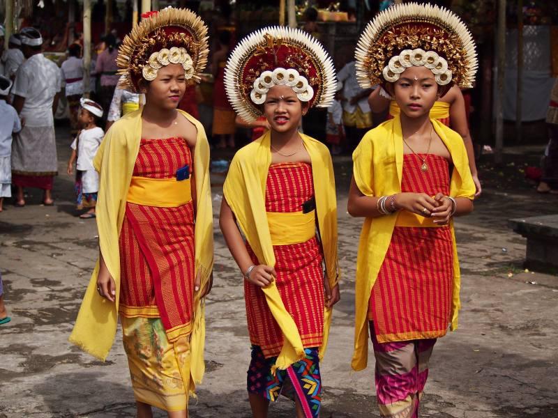 Bali ceremonies - Usaba Dangsil