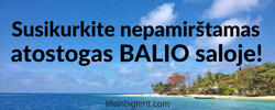 Kelionės planavimas, konsultacijos Balis