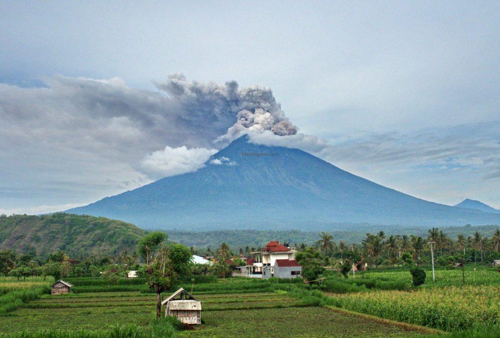 Agung eruption
