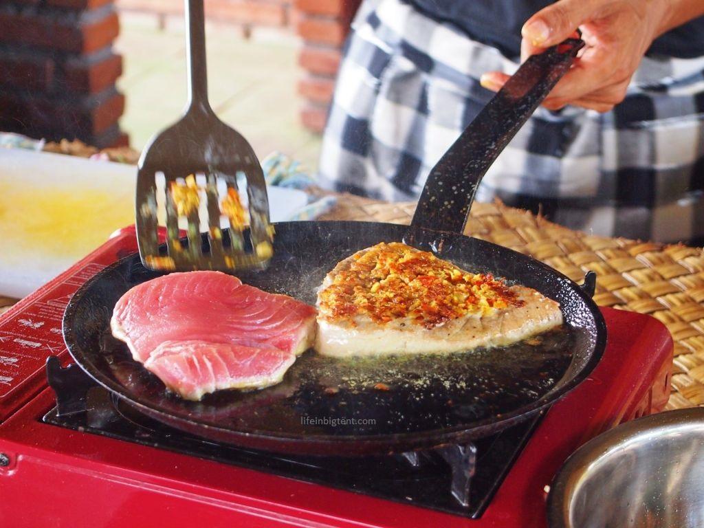 Maisto gaminimo pamoka Balyje